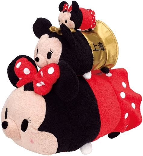 Boneka Tsum Tsum Disney Minnie Mouse shanghai disney store exclusive tsum tsum collection my tsum tsum