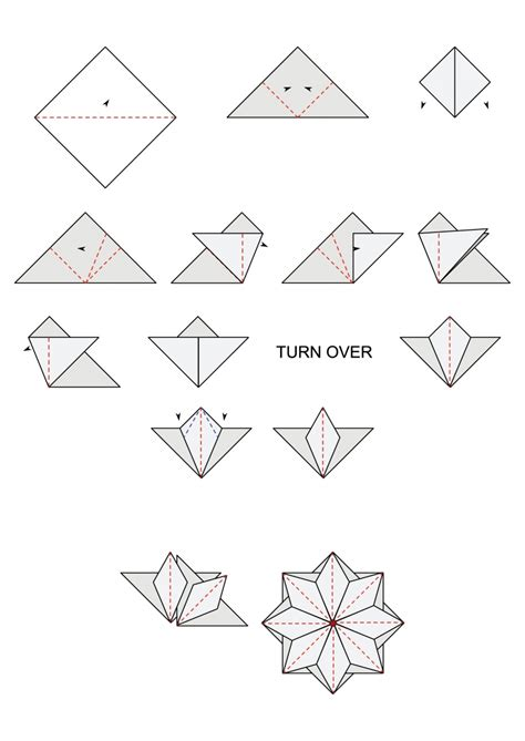 Origami Tea Bags - free tea bag folding diagrams cardmakingandpapercraft