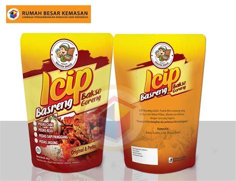 kemasan standing pouch bakso goreng