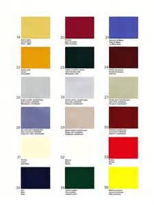 Alfa Romeo Colour Chart Giardinetta In Print