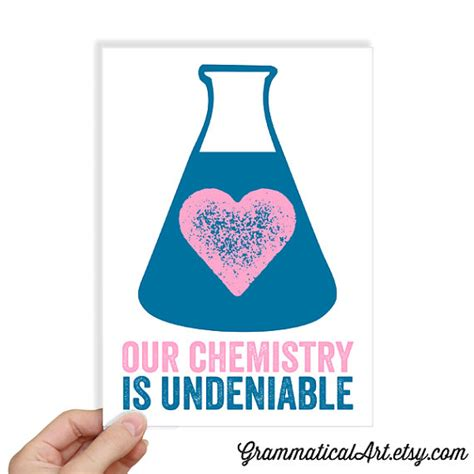 chemistry valentines day card chemistry science s day by grammaticalart