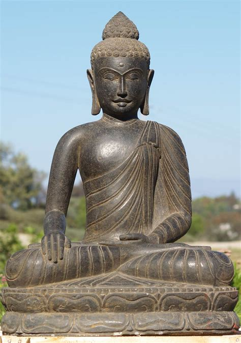 Buddha Garden Statue by Sold Serene Garden Buddha Statue 36 Quot 69ls37