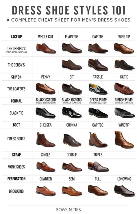 mens boots fashion guide the ultimate men s dress shoe guide bows n ties