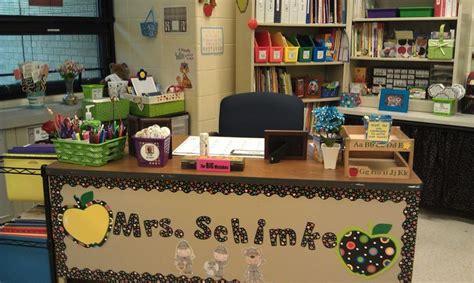 sports themed desk accessories decorated s desk classroom decoration ideas