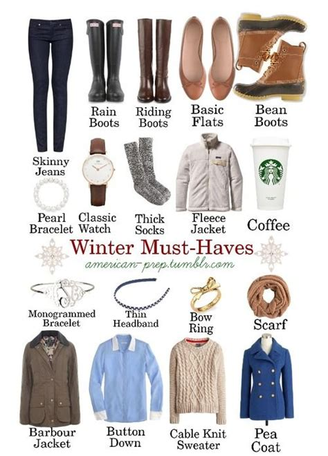 Winter Wardrobe Basics by American Prep Wow It Has 500 Notes Already Live