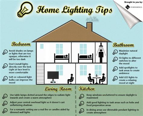 home lighting tips a sheet