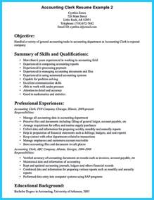 Accounting Resume Objective Statement Sample For Writing An Accounting Resume How To Write A