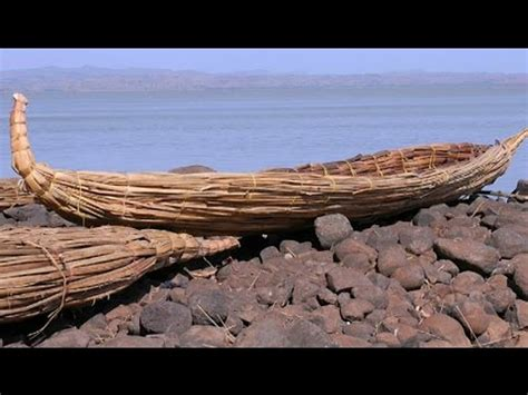how to make a egyptian boat out of paper tankwas papyrus boats of ethiopia youtube