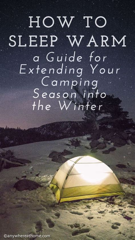 warm me in winter by the seasons volume 2 books how to sleep warm a guide for extending your cing