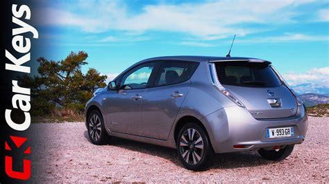 nissan leaf  drive  review car keys youtube