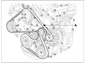 Auto Tensioner V Belt Kia Carnival Diesel Gigi Timing 151 0k55115981b how do you replace the serpentine belt on a 1996 hyundai