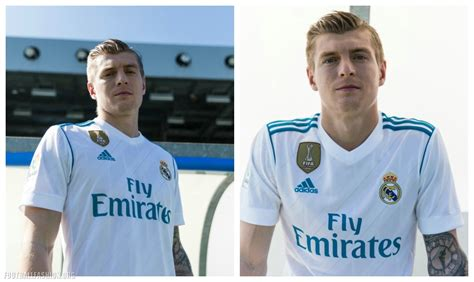 Jersey Real Madrid Away 2018 New Season real madrid 2017 18 adidas home and away kits football