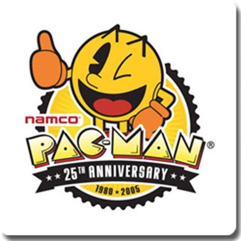pacman anniversary pac 25th anniversary 1980 2005 logopedia fandom