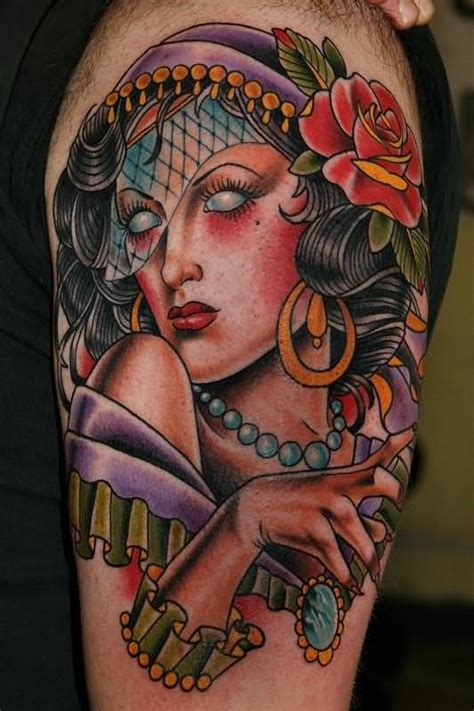 gypsy woman tattoo tattoos page 4