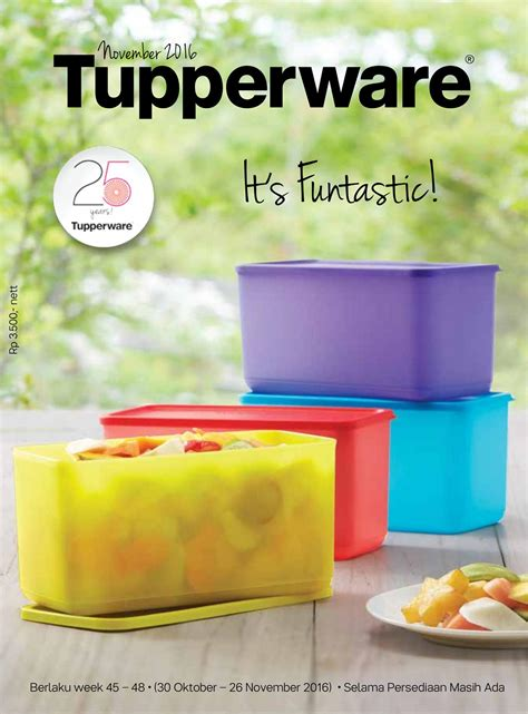 Tupperware Bulan katalog activity tupperware oktober katalog harga promo