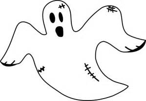 Ghost Clipart Outline by Ghost Outline Clipart Best