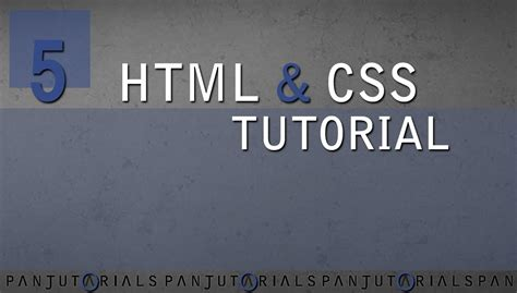 css tutorial on youtube html css tutorial f 252 r anf 228 nger 5 bildgr 246 223 e ver 228 ndern
