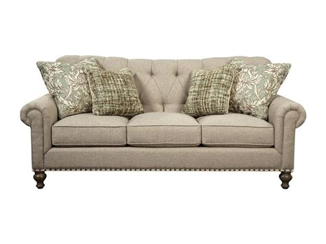 paula deen by craftmaster living room sofa p754150bd
