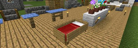 Minecraft Baby Crib by Furniture Ideas Creation Minecraft Pe Maps