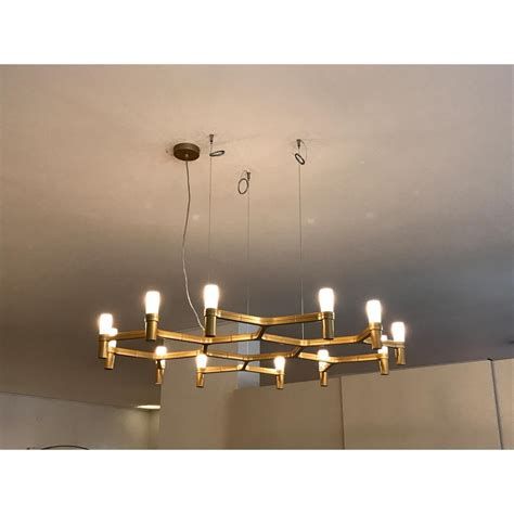 Chandelier Outlet Nemo Crown Plana Minor Gold Suspension Lamp Outlet