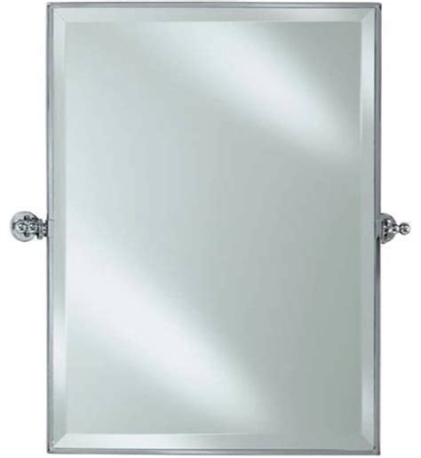 tilting bathroom mirror afina rm 836 sn radiance rectagular adjustable tilting