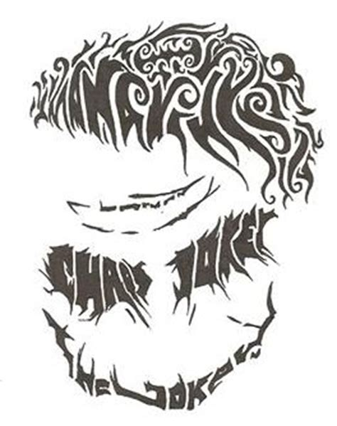 tribal tattoo designs joker tribal joker by pictures to pin on pinterest tattooskid