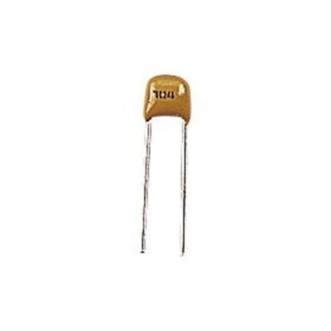 10 Pf Ceramic Capicator by 15pf 2 5mm Cog Npo Monolithic Radial Ceramic Capacitor