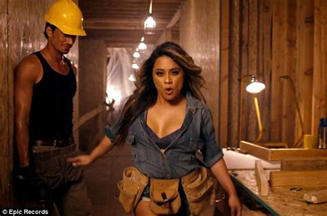 sexy house music video fifth harmony s ally brooke steals the show in new work
