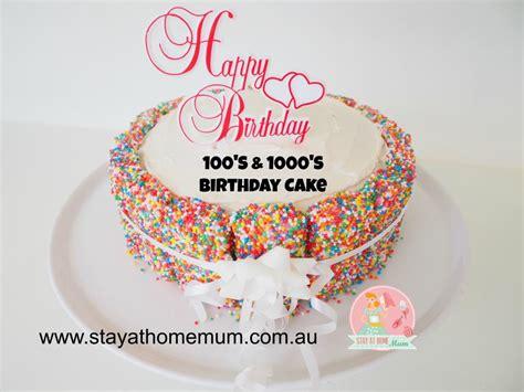 s birthday 100 s 1000 s birthday cake stay at home