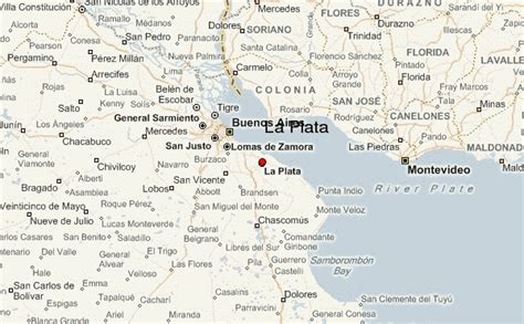 la plata argentina map la plata location guide