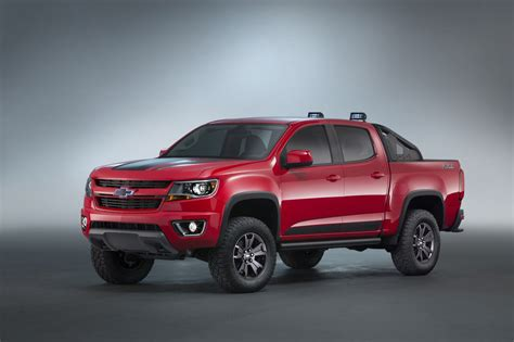 chevy colorado 2016 chevrolet colorado z71 trail boss 3 0 concept sema