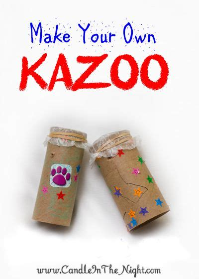 musical instruments crafts for musical crafts for make your own kazoo activities