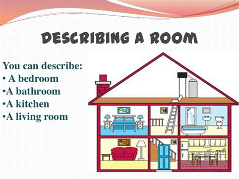 How To Describe Your Living Room In Describing Places