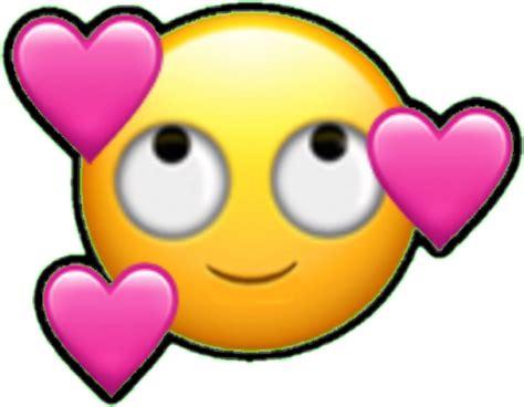 imagenes del emoji enamorado emoji emoticono emoticon cara enamorado corazon corazon