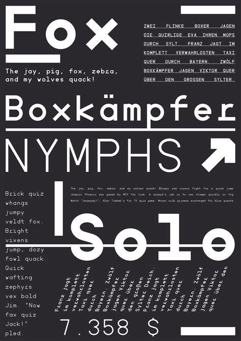 minimal mono font befontscom