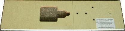 Templaco Tools Router Jigs Door Tools Door Lock Installation Kits Vingcard Lock Template