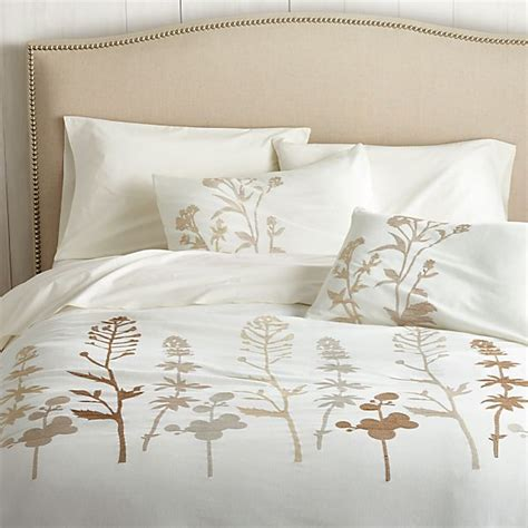 Crate And Barrel Osaka Duvet Cover by Woodland Duvet Cover Crate And Barrel