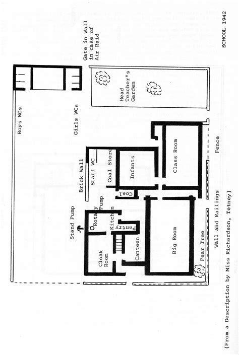 primary school building line plan modern house
