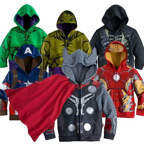 Boy And Fashion Avenger 1 new autumn the jacket iran clothes for boys thor clothing children baby