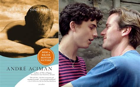 Your Is A Book call me by your name comparing the and novel ew