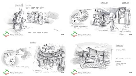 Layout Previs | storyboard layout previs studionice