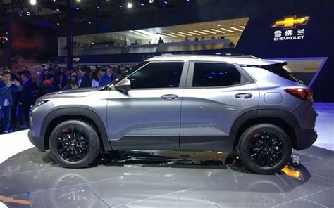 all new chevrolet trailblazer 2020 2020 chevrolet trailblazer announced in china 4 5
