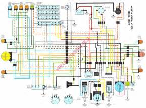 diagrama honda cb250 350k