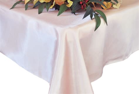blush table overlay blush pink rectangular satin table overlays toppers