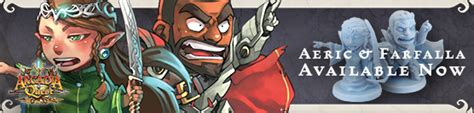 Arcadia Quest Characters Aeric aeric and farfalla join arcadia quest bols gamewire