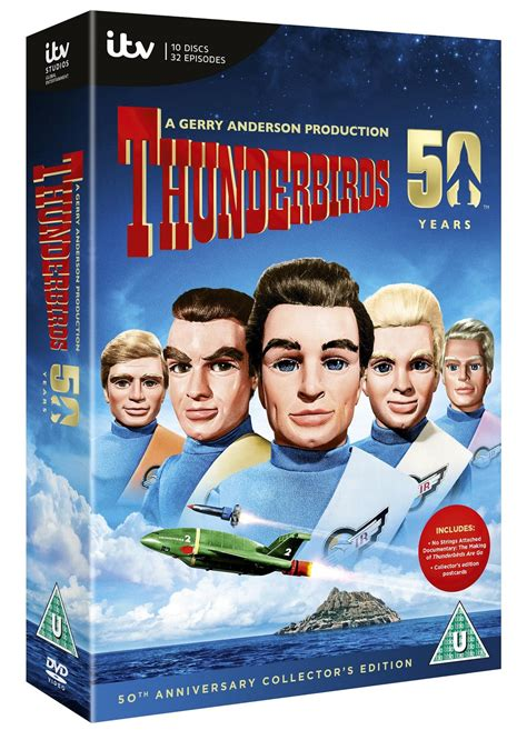 emmerdale season series dvd itv to release thunderbirds 50th anniversary dvd set