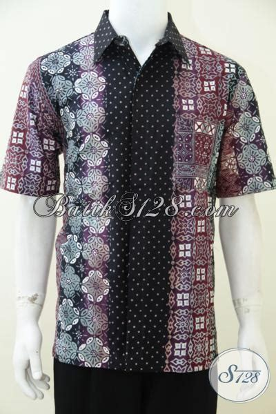 Batik Gamis Gradasi distro batik premium jual baju batik lengan pendek