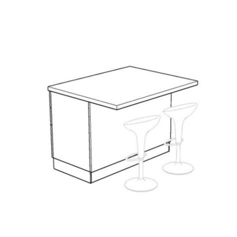 Altezza Piano Snack by Isd120c Isola Dispensa Per Cucina Componibile Arredaclick