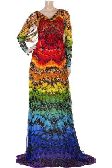 Mcqueen Butterfly Gown by Mcqueen Butterfly Print Gown Net A Porter