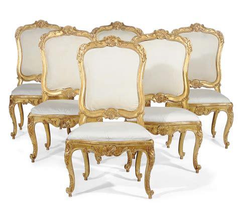 sedie luigi xv sei sedie luigi xv in legno intagliato e dorato roma